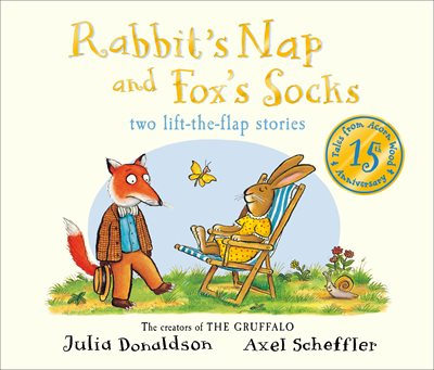 Book cover for Tales from Acorn Wood: Fox's Socks...
